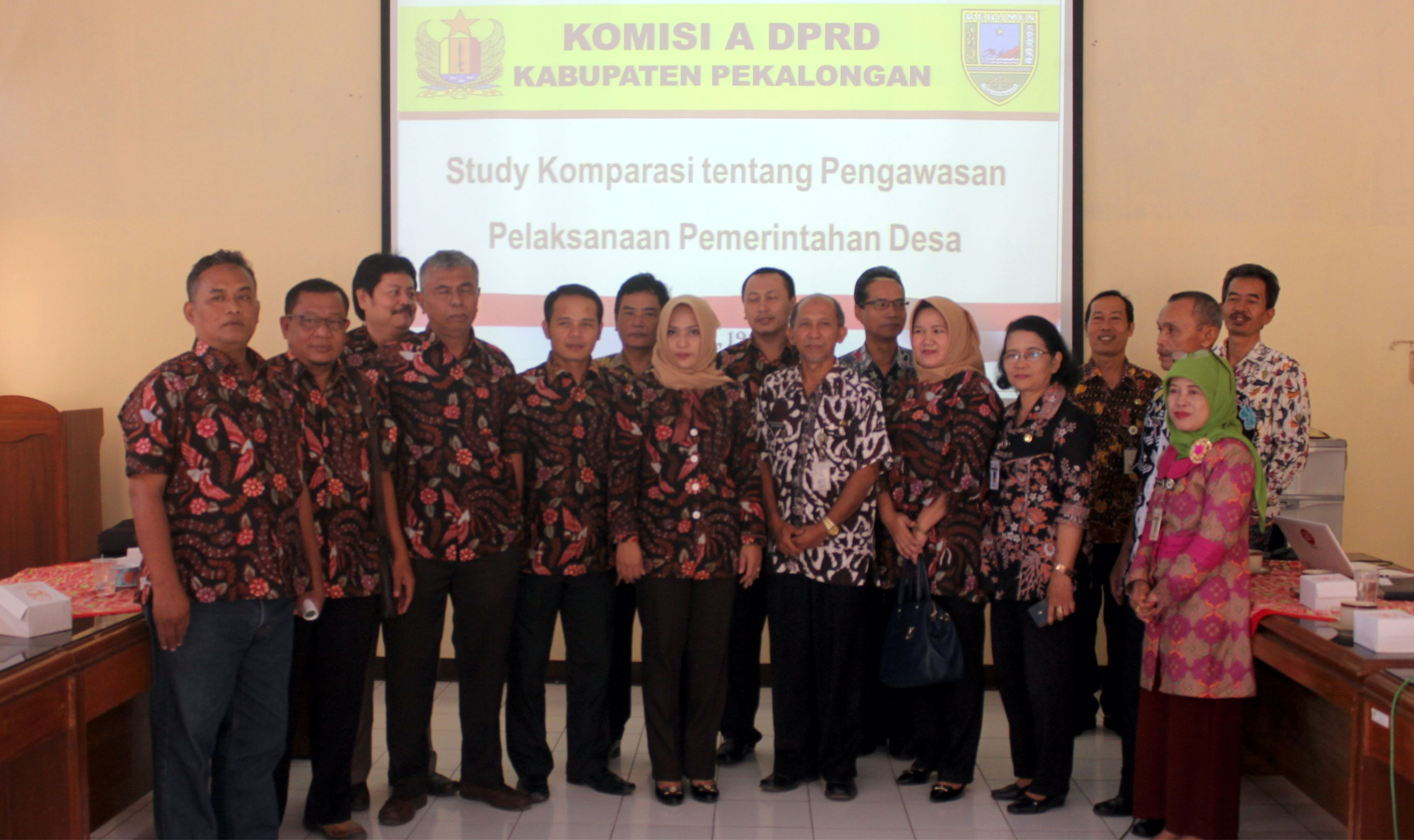 Komisi A DPRD Kabupaten Pekalongan berkunjung ke Inspektorat Kabupaten Kebumen