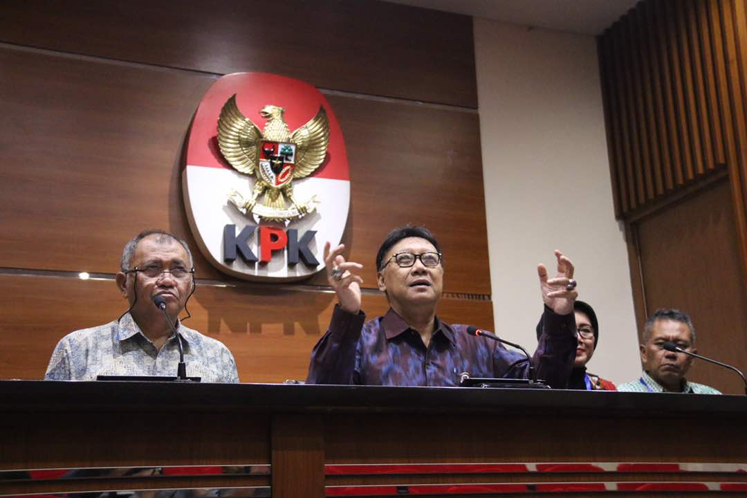 Rencana Penguatan Inspektorat Daerah, Mendagri Lapor ke Presiden